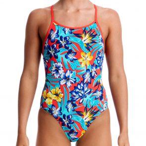 Funkita Girls Eco Diamond Back One Piece Swimsuit FKS033G New Swimwear Pandaddy