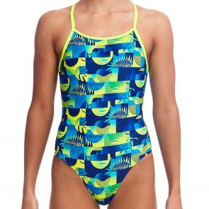 Funkita Girls Diamond Back One Piece FS11G Magnum Pi