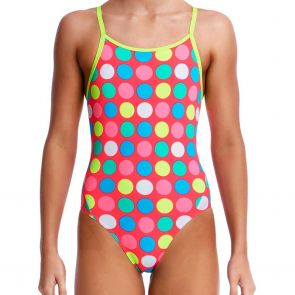 Funkita Girls Diamond Back Swim One Piece FS11G Twister