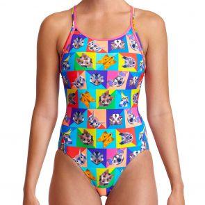 Funkita Diamond Back Swim One Piece FS11L Rat Pack