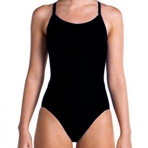 Funkita Ladies Diamond Back Swim One Piece FS11L Black
