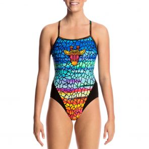 Funkita Swim Single Strap One Piece FS15L Scorching Hot