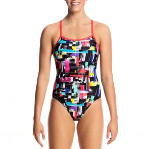 Funkita Swim Single Strap One Piece FS15L Test Signal