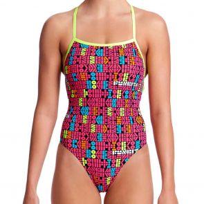 Funkita Strapped In Swim One Piece FS38L Code Breaker