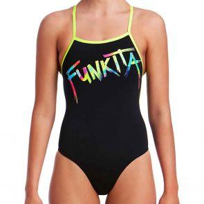 Funkita Swim Strapped In One Piece FS38L Funkita Tag