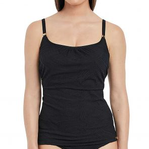 Fantasie Ottawa Underwire Scoop Neck Swim Tankini FS6362 Black