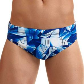 Funky Trunks Men's Classic Swim Brief FT35M Fast Glass