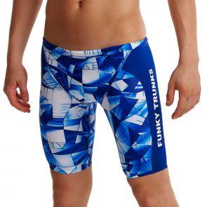 Funky Trunks Boy's Training Swim Jammers FT37B Fast Glass