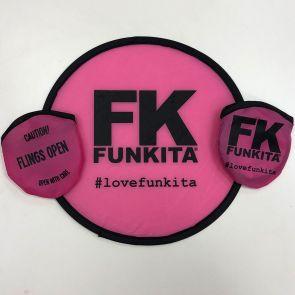 Funkita Fold-Up Frisbee Pink