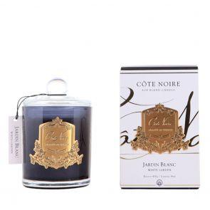 Cote Noire Gold Badge Candle GMC45004 White Garden