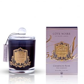 Cote Noire Gold Badge Candle GML45018 Pink Champagne