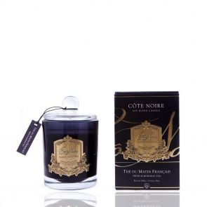 Cote Noire Gold Badge Candle GML45101 French Morning Tea