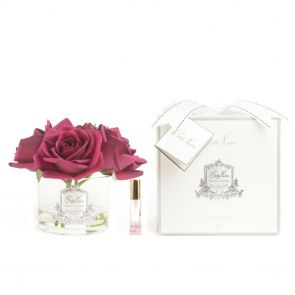 Cote Noire Perfumed Natural Touch 5 Roses Clear GMR64 Carmine Red