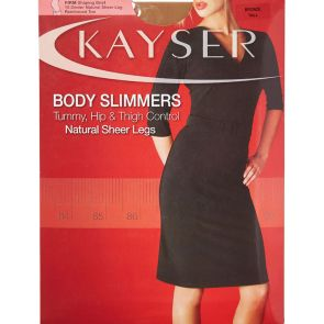 Kayser Body Slimmers Natural Sheer Legs H10807 Slate