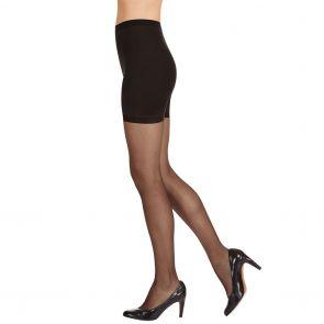 Kayser Body Slimmers Natural Sheer Legs H10807 Black