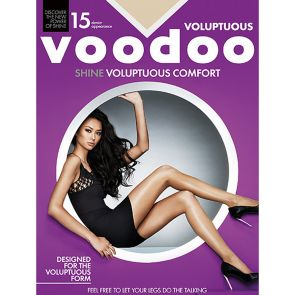 Voodoo Voluptuous Shine Sheers H30560 Celestial