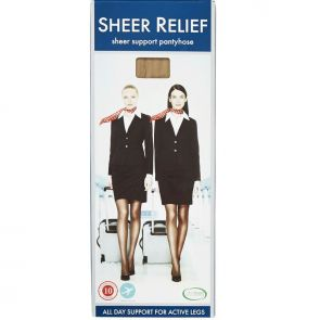Sheer Relief Support Pantyhose H32800 Skintone