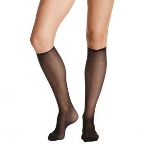 Razzamatazz Perfecting Reinforced Toe Knee High 2 Pack H80014 (*Ex. Silken Feel) Black