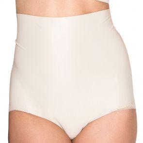 Hush Hush by Slimform Essensual Smooth Lace High Waist Control Pant Nude HH015