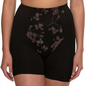 Hush Hush by Slimform Eden Medium Control Boyleg Brief HH041 Floral Black