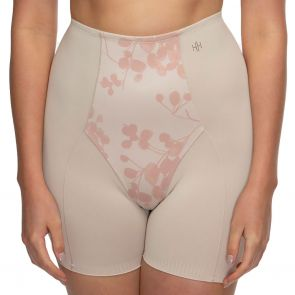 Hush Hush by Slimform Eden Medium Control Boyleg Brief HH041 Floral Nude