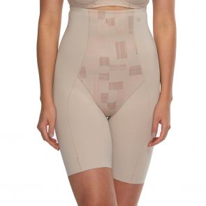 Hush Hush by Slimform Eden Medium Control Thigh Shaper HH043 Geo Nude