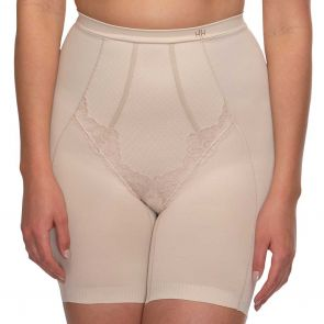 Hush Hush by Slimform Whisper Boyleg Control Brief HH055 Nude