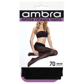 Ambra 70D Hipster Opaque Tight HIPOP70TI Black