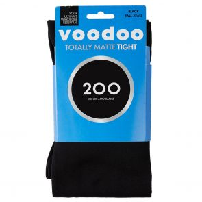 Vodoo Totally Matte 200D Slimming Tight HXVA1N Black