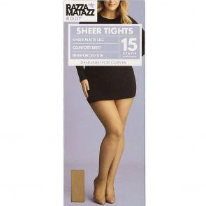 Razzamatazz Body 15D Sheer Tights HXWX1G Natural