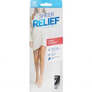 Sheer Relief 15D Sheers HXXM1N Tan