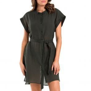 Jets Parallels Shirt Dress J60450 Khaki