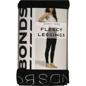 Bonds Fleece Leggings L79542 Black