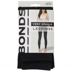 Bonds 120D Opaque Leggings L79564 Black