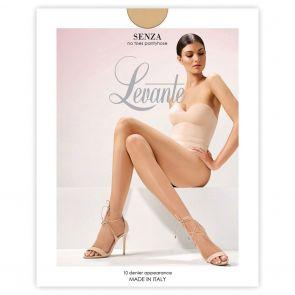Levante Leg Perfecting Sheers Senza No Toes LEVPUNUNT Naturel