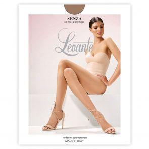 Levante Leg Perfecting Sheers Senza No Toes LEVPUNUNT Suede