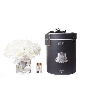 Cote Noire Luxury Grand Bouquet Silver Badge LTW01 Ivory Navy Box