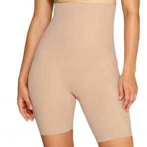 Miraclesuit Shapewear High Wonder Edge Waist Thigh Slimmer Nude 2759