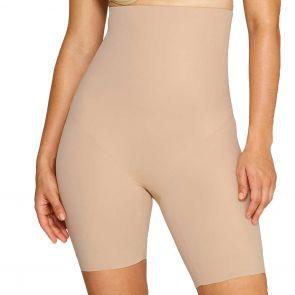 Miraclesuit Shapewear High Wonder Edge Waist Thigh Slimmer Nude 2759