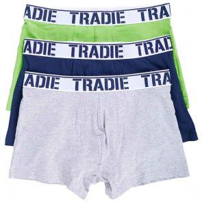 Tradie 3 Pack Fitted Trunks MJ1194WK3 Nightlife