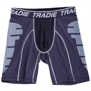 Tradie Tech Long Leg Trunk MJ1483SK Black / Charcoal