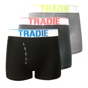Tradie Men 3-Pack Fly Front Trunks MJ3368SK3 Reflect