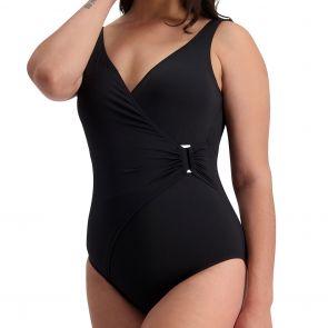 Moontide Contour Side Trim Swimsuit Multi-Fit M4320CN Black