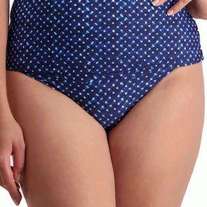 Moontide Pop Indigo Mid-Rise Swim Pant M7803MH Tie Dye
