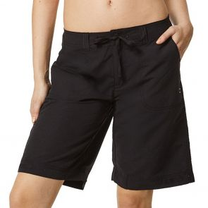 Moontide Boardshorts Resort Knee Swim Short M1001BS Black