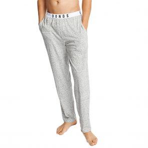 Bonds Comfy Livin Jersey Pants MXM9A Lazy Marle