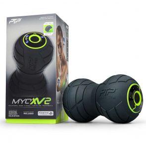 PTP Vibrating Massage Track Ball MYOXV2 Black