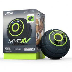 PTP Vibrating Massage Ball MYOXV Black