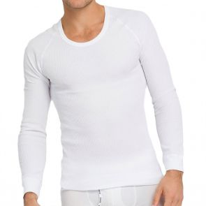 Holeproof Aircel Thermal Long Sleeve Tee MYPU1A White