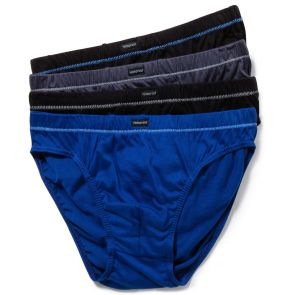 Holeproof Cotton Tunnel Briefs 4PK MZHU4A Multi